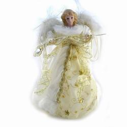 Billede af Porcelæns engel - creme