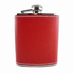 Billede af Lommelærke - rød læder