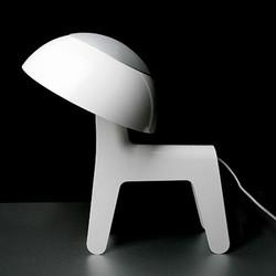 Billede af Dog lamp - hvid