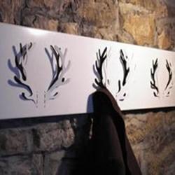 Oh deer knagerække - sort (3 gevir)