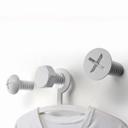 Billede af Screw collection - knage (hvid)