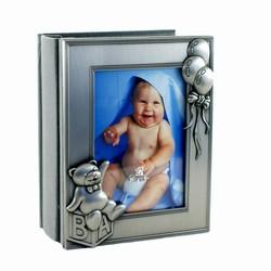 Image of   Baby fotoalbum med balloner