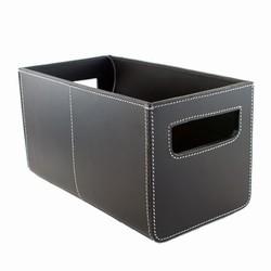 Billede af Sort læder kasse