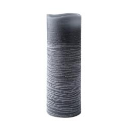 Led bloklys med timer - grå 20 cm fra N/A fra fenomen