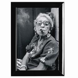 Billede af Fotoramme med sort kant - 21x30 cm