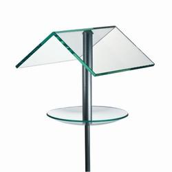 Fuglehus af glas