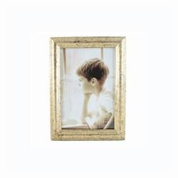 Image of   Fotoramme med guld kant - 10x15 cm