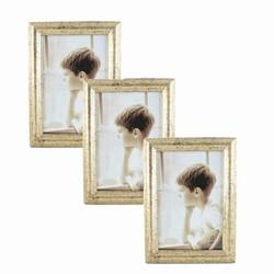 Billede af Fotorammer med guld kant - 21x30 cm (3 stk.)