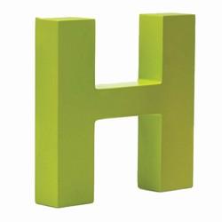 Billede af Bogstav H - lime grøn