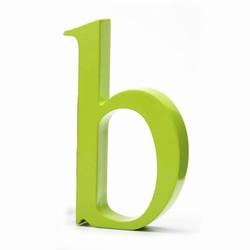 Billede af Bogstav b - lime grøn