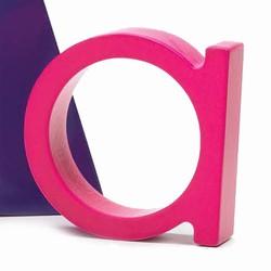 Bogstav a - pink