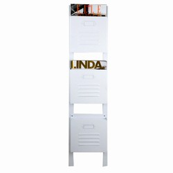 N/A – Hvid magasinholder - 3 rum på fenomen