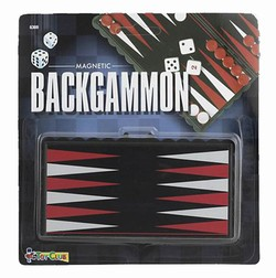 Backgammon - magnetisk