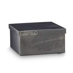 Image of   Metal box med låg - medium