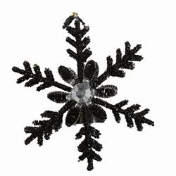 Billede af Snowflake lysestage
