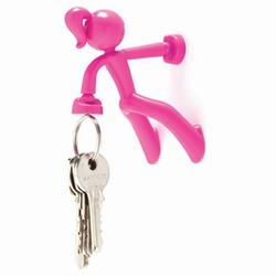 Billede af Key Petite - pink nøgleholder