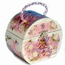 Smykketaske med alfer