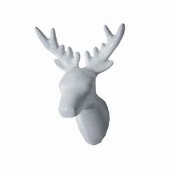 Billede af Dear deer knage - hvid