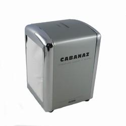 Servietholder Cabanaz - gr� / st�l farvet