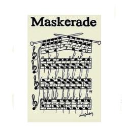 Billede af Maskerade plakat