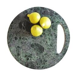 Billede af Skærebræt - grøn marmor