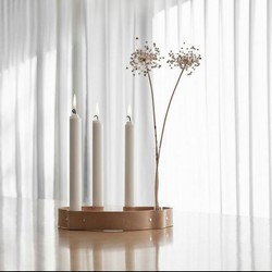 Belt 4 Candles By Wirth - natur