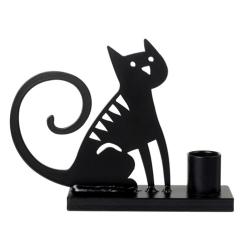 Billede af Lysestage - Sitting Cat
