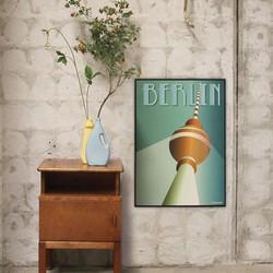 Billede af Berlin plakat