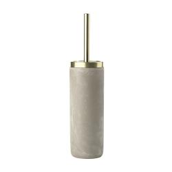 Billede af Toiletbørste beton og messing