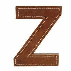Billede af Læder bogstav - Z