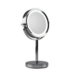 Bord spejl med lys - forstørrelse x 10