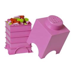 N/A – Lego klods - brick 1 bright purple fra fenomen