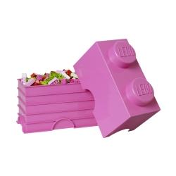 Lego klods til opbevaring - brick 2 purple fra N/A fra fenomen