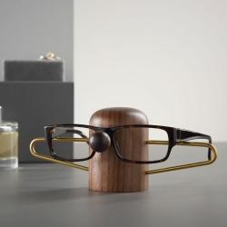 Billede af Nosey brilleholder - valnød
