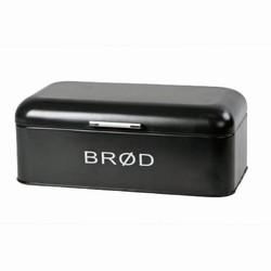 N/A Brød boks - sort på fenomen