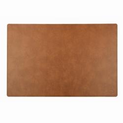N/A Skriveunderlag i brun læder - linddna fra fenomen