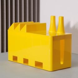 Billede af Cable Factory - kabelboks i gul
