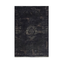 Billede af Vintage tæppe - sort 60*90cm