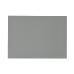 Dækkeserviet linoleum - lys grå