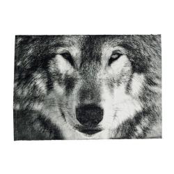 N/A Dækkeserviet med ulv på fenomen
