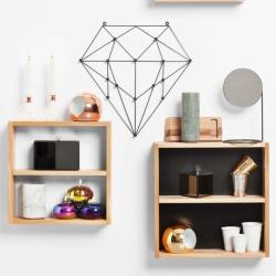 N/A Diamond knagerække til væg på fenomen