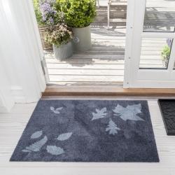 Billede af Tica Copenhagen dørmåtte - Mega Leaf grå