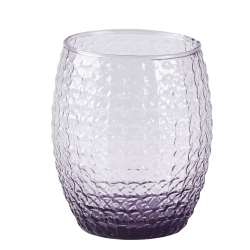 Drikkeglas lilla - 6 stk.