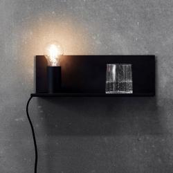Billede af Flash lampe til væg - sort