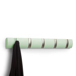 Billede af Flip knagerække - mint og stål