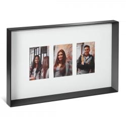 Image of   Fotoramme til 3 billeder - 10x15 cm