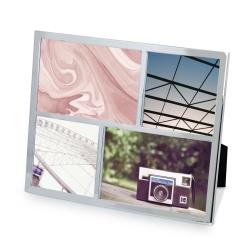 Image of   Fotoramme til 4 billeder - stål