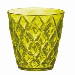 Billede af Plastik glas grøn - 4 stk.