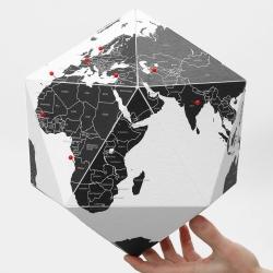 Billede af Here Globe - Med lande