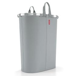 Billede af Oval vasketøjskurv - grå